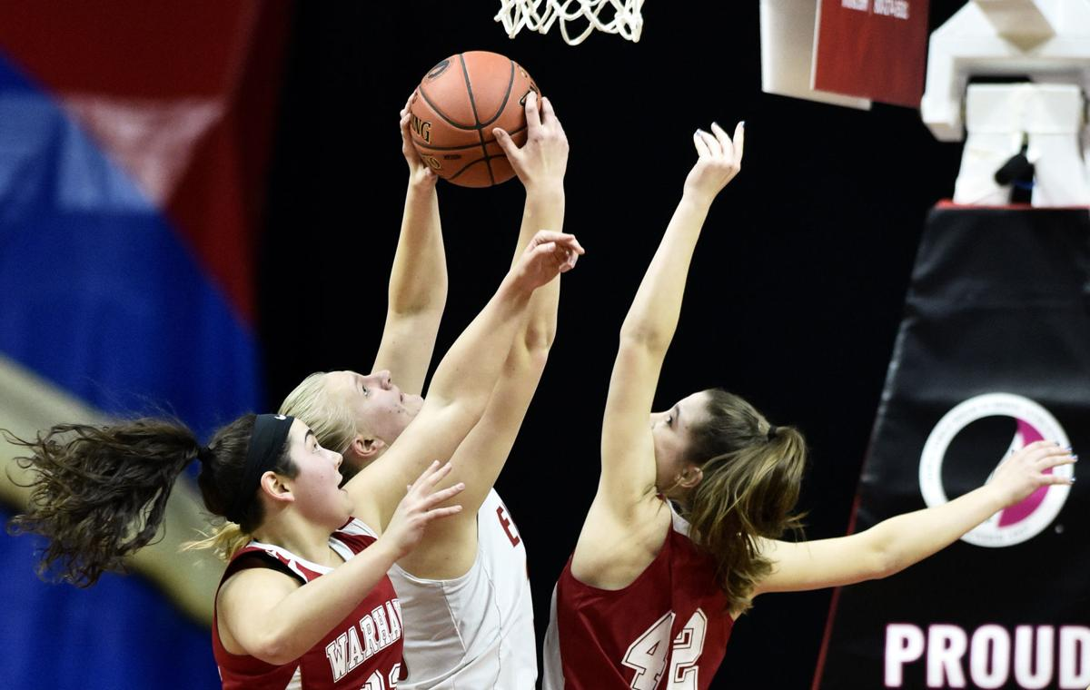 West Hancock vs North Mahaska Catholic state basketball