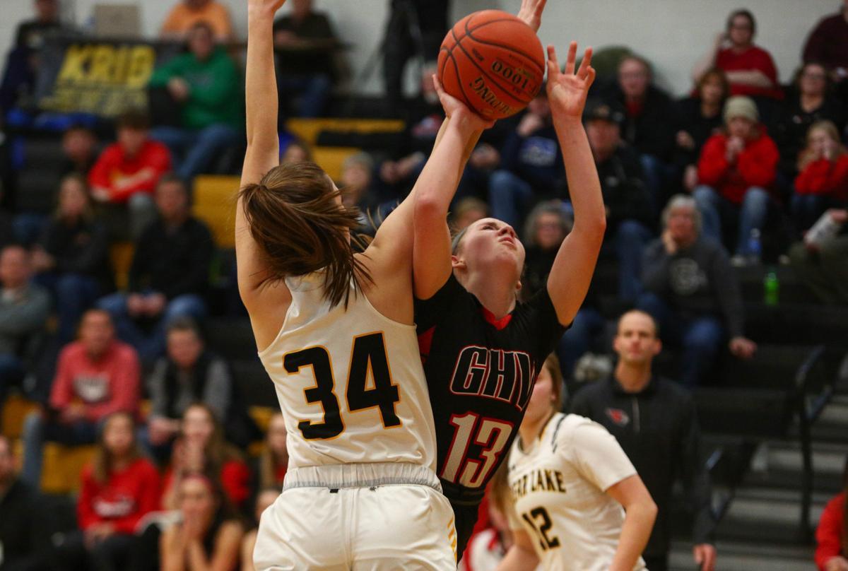 Clear Lake vs Garner-Hayfield-Ventura girls basketball - 3