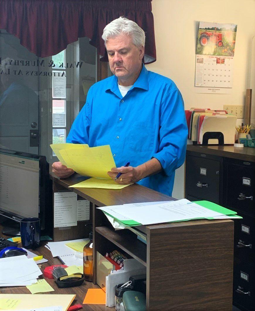 Aaron Murphy in office