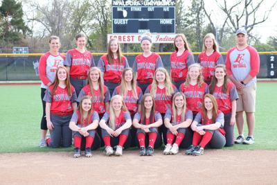 2019 Forest City High School Softball team