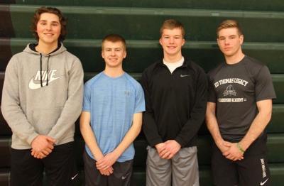 Osage boys track seniors