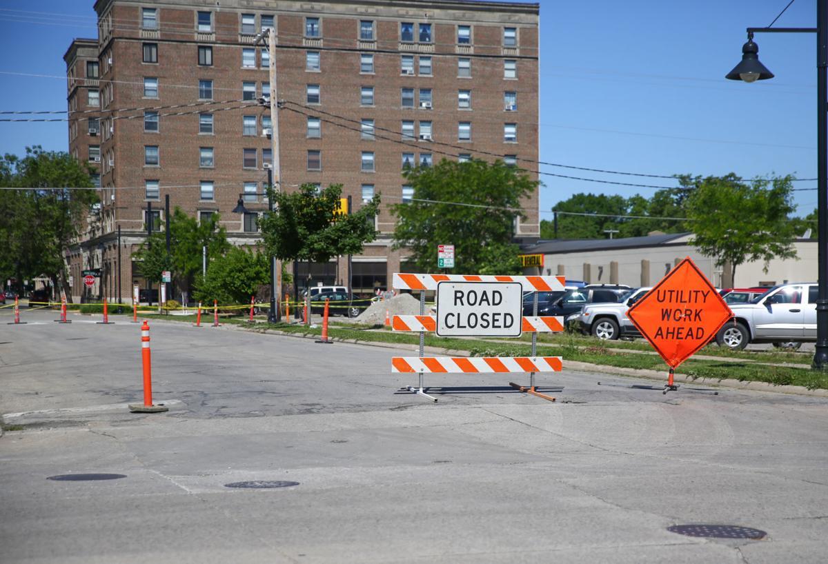 Road closure Third Street Northeast