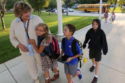 First day of school at Clear Creek