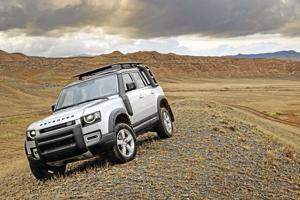 2021 Land Rover Defender.