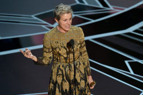 Frances McDormand Mentioned An 'inclusion Rider' In Her Oscars Speech—here's What It Means