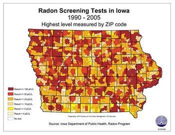 Map Of Minnesota Radon Levels