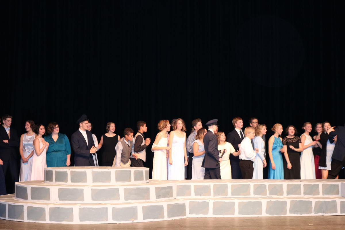 """Singing In The Rain"" musical performed at Boman Fine Arts Center -2"