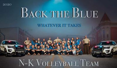 Back the Blue poster