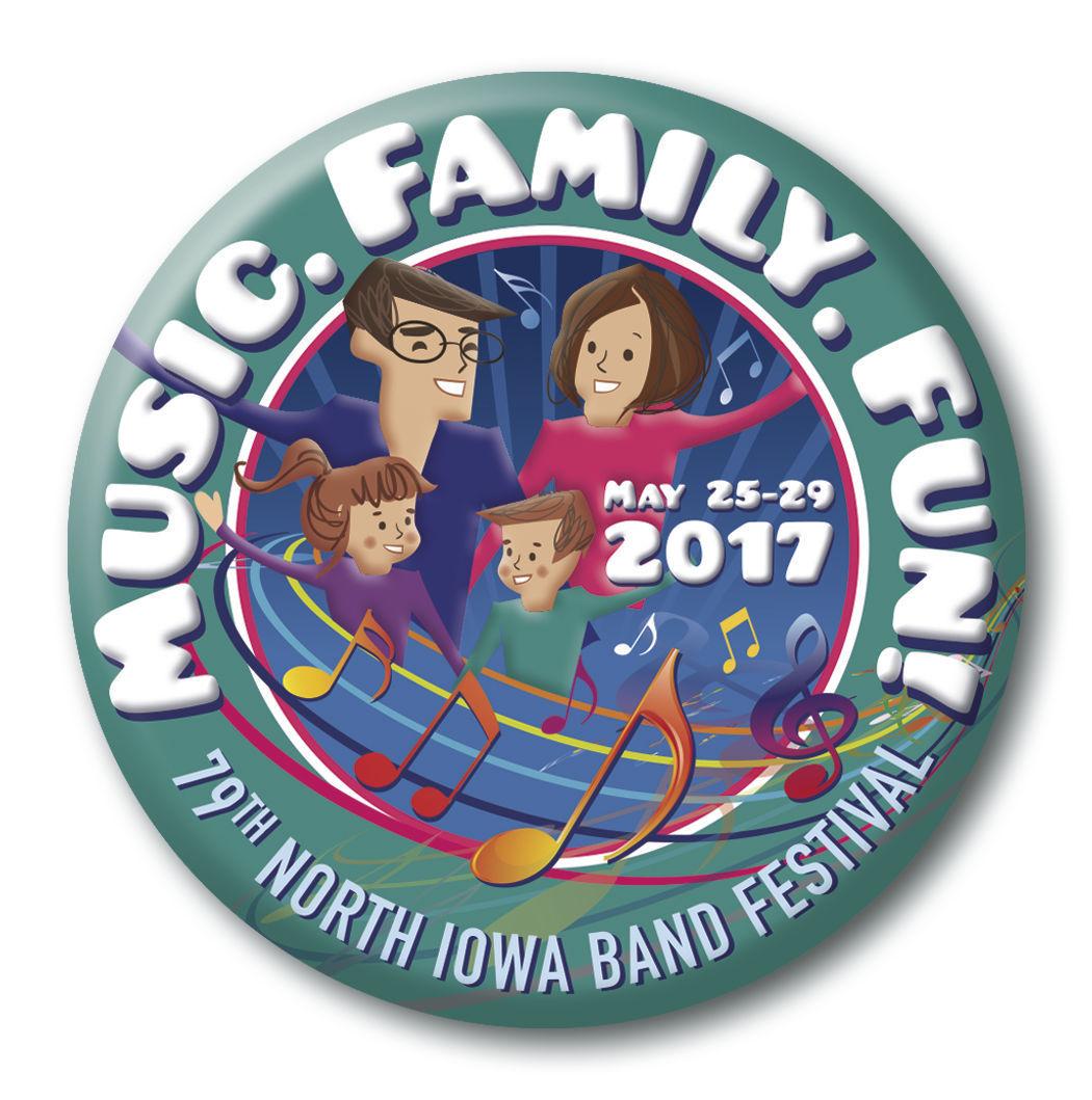 2017 Band Festival Logo
