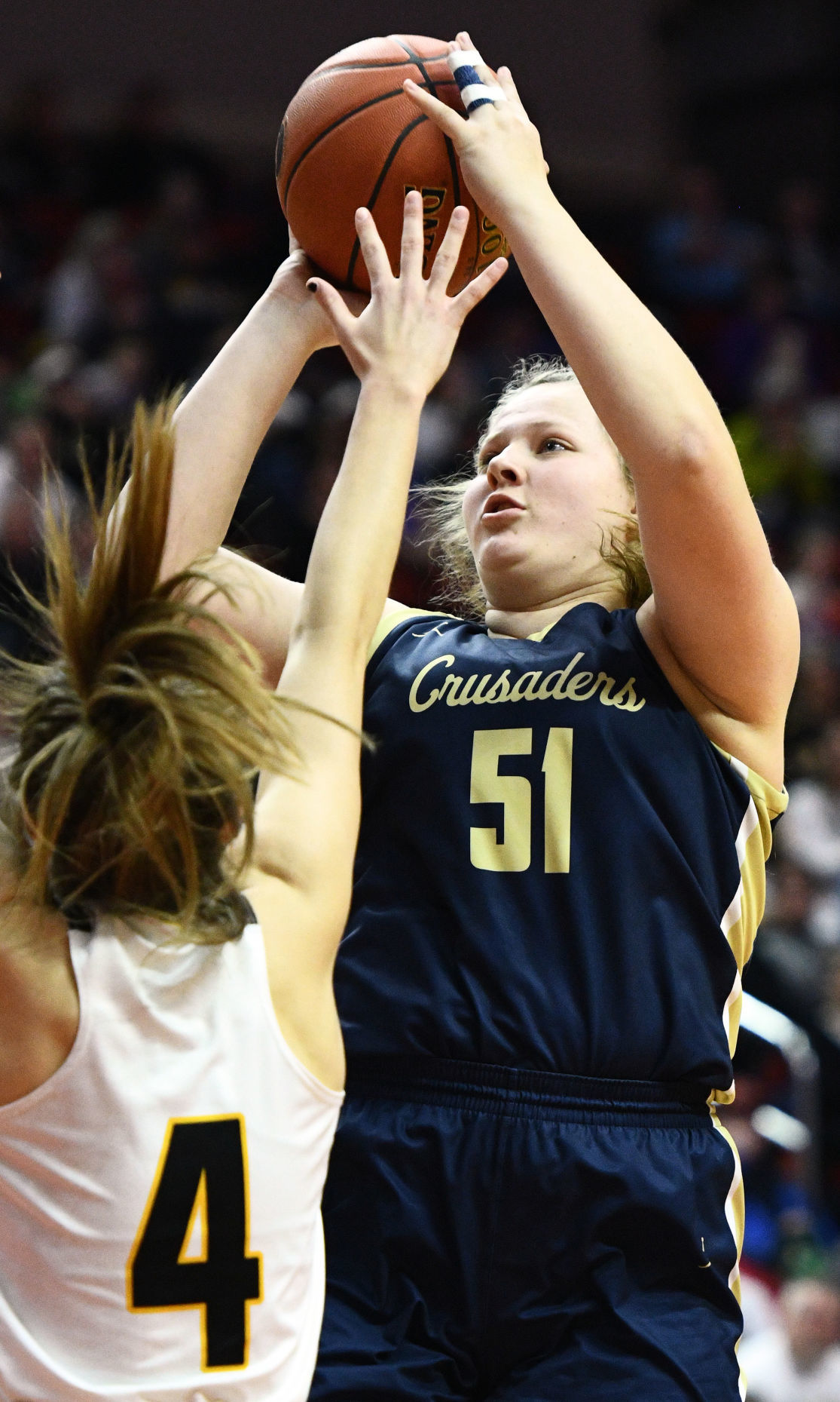 Heelan vs Clear Lake state basketball