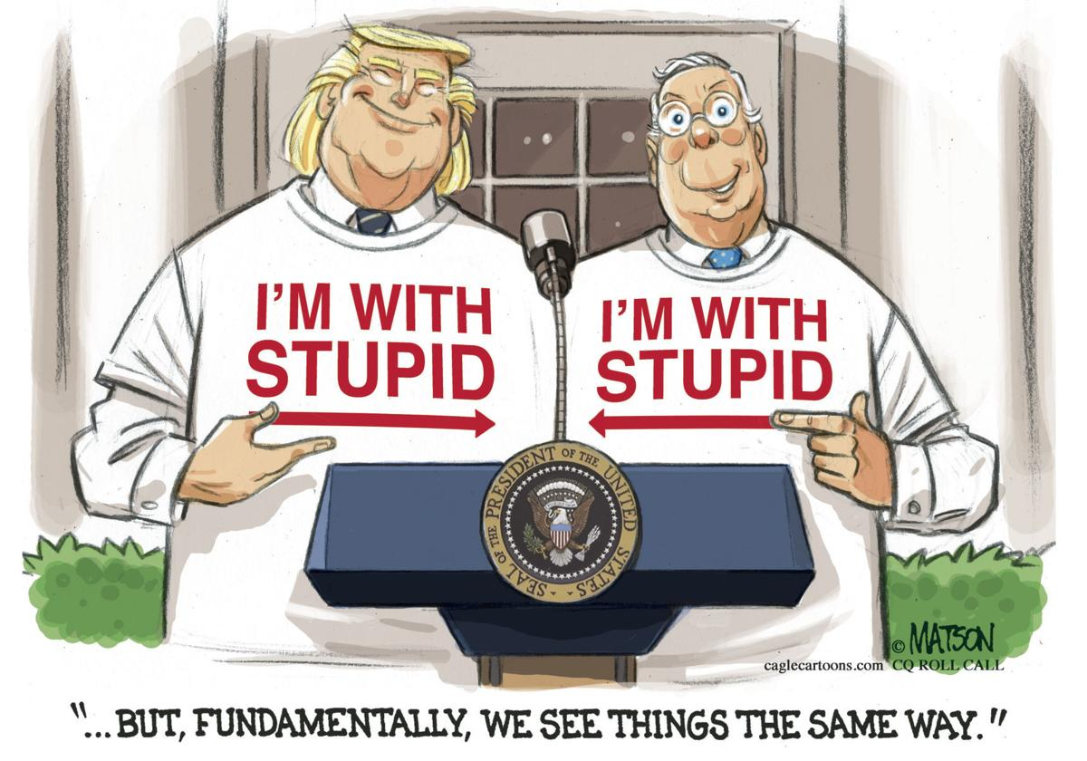 Trump and McConnell Have Meeting of the Minds by RJ Matson, Roll Call