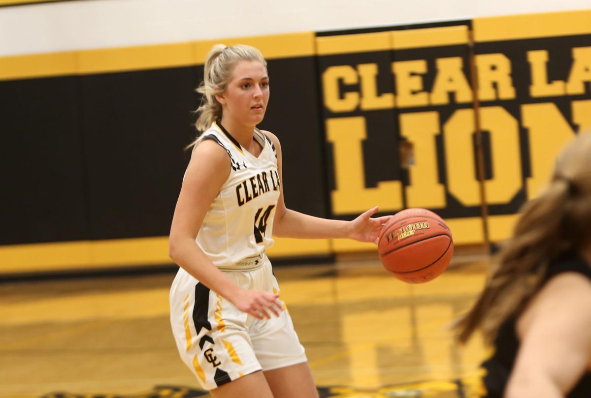 Clear Lake girls basketball vs. Waverly-Shell Rock - Dodd
