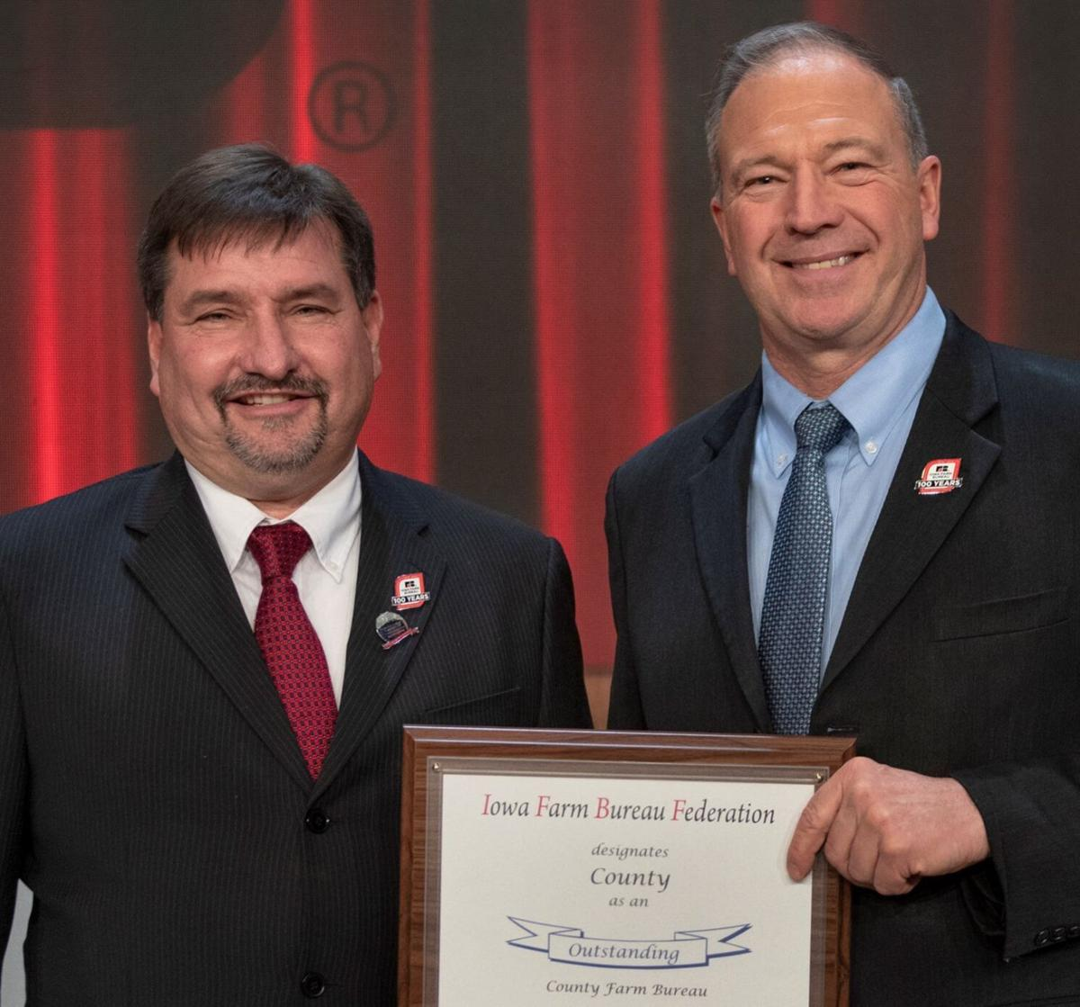Mike Hejlik Farm Bureau Award