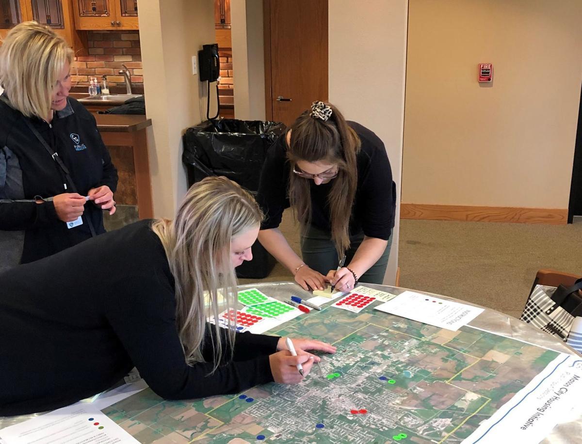 Mason City housing needs event- Maps