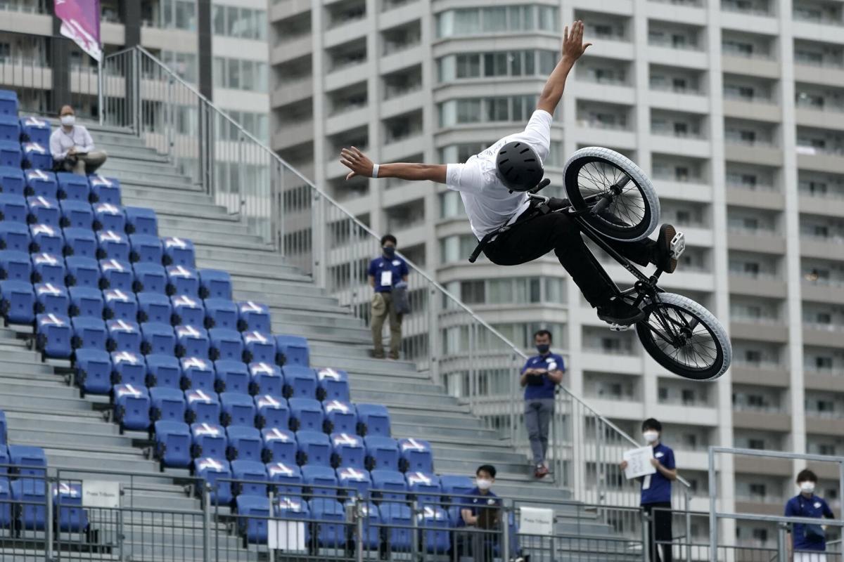 APTOPIX Japan Olympic Cycling BMX