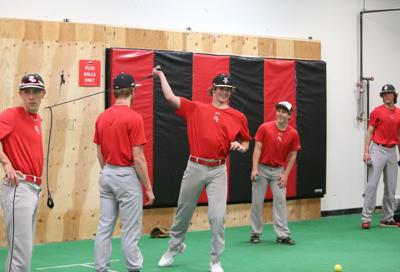 Mason City baseball practice at The Yard 2
