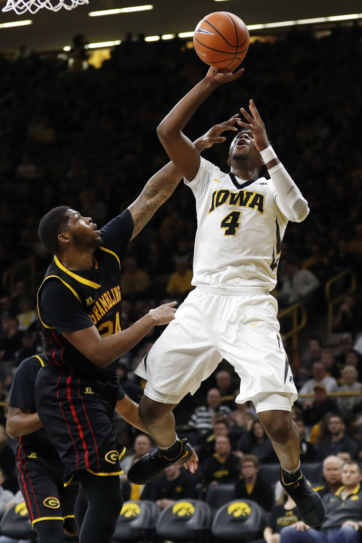 Grambling St Iowa Basketball