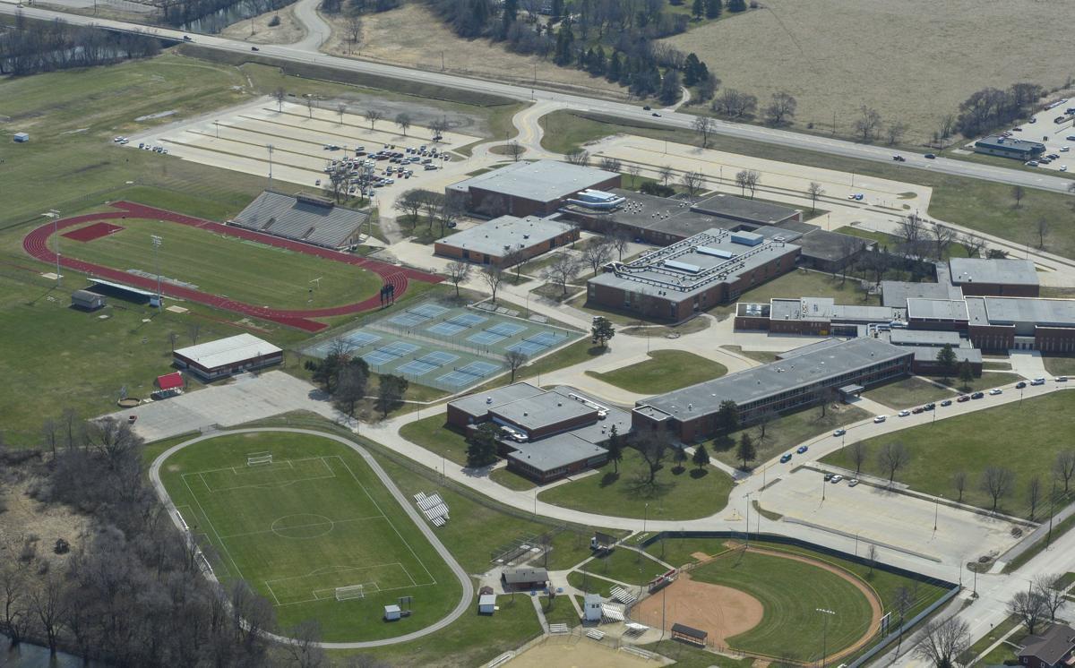 Aerials Mason City High School