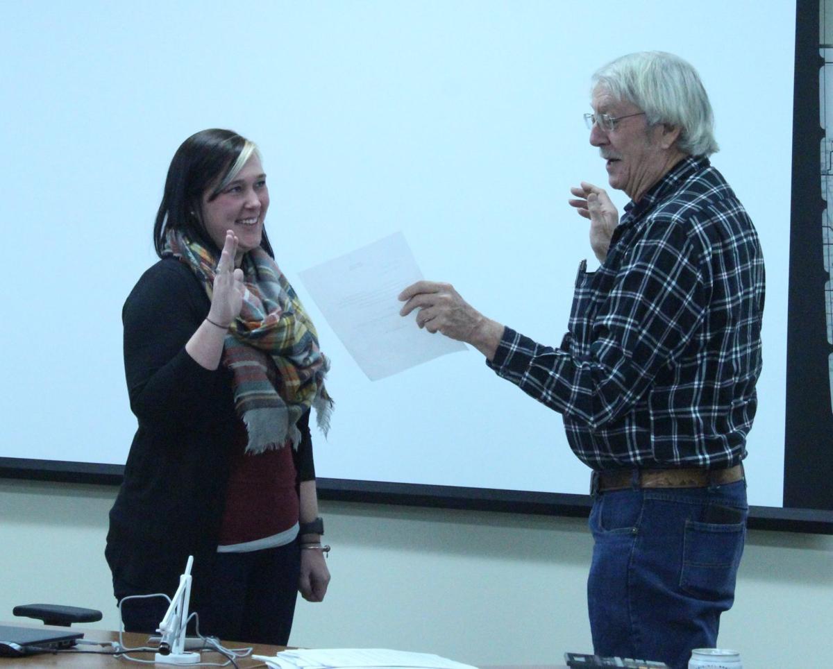 Adams sworn in as supervisor