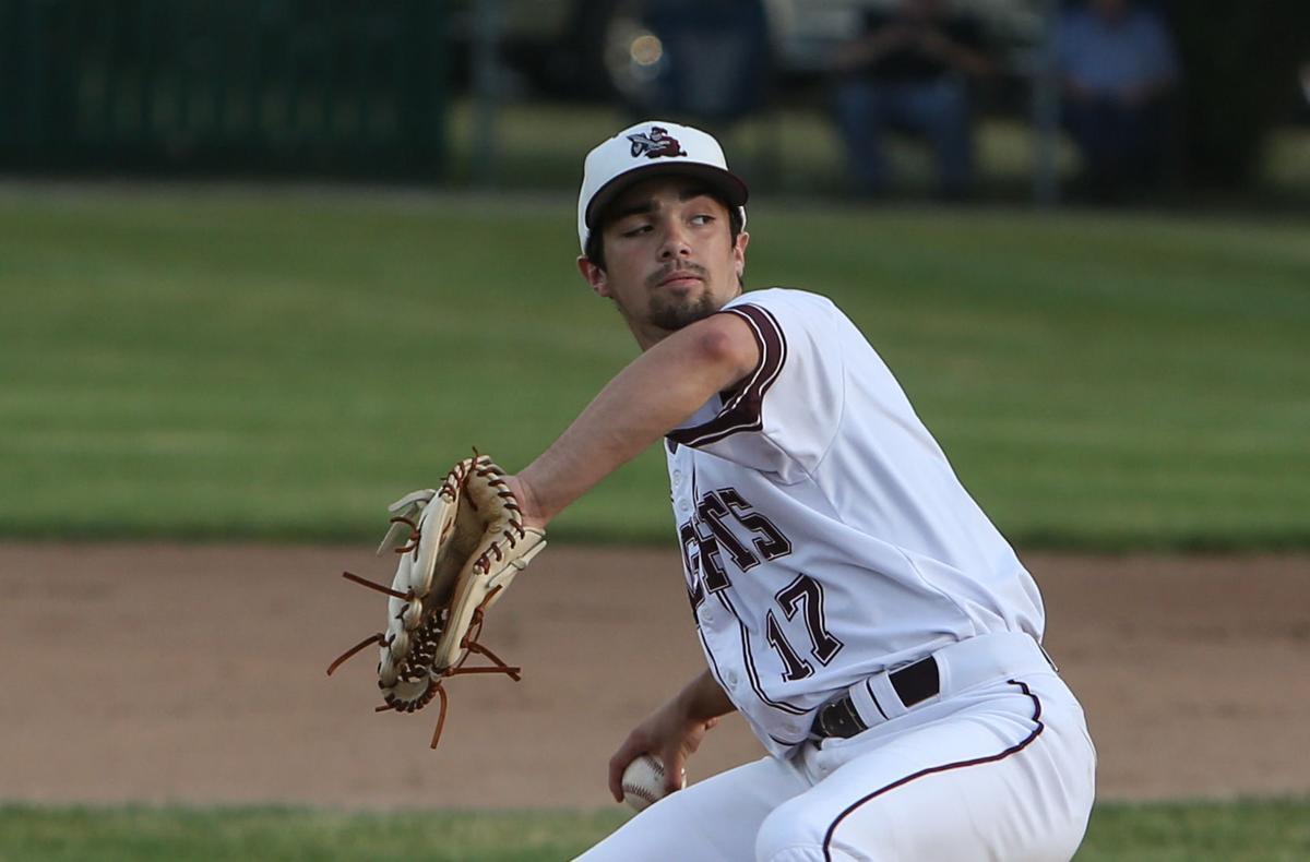 Newman Catholic baseball vs St. Ansgar - Henrich