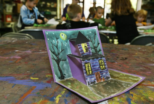 Children have scary fun with Halloween art projects   Mason City ...