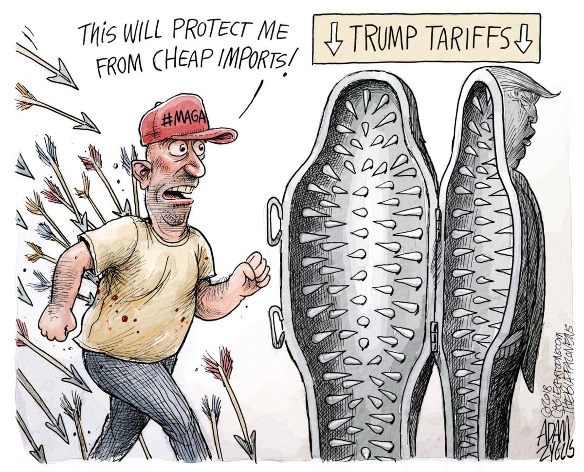 Protectionism by Adam Zyglis, The Buffalo News