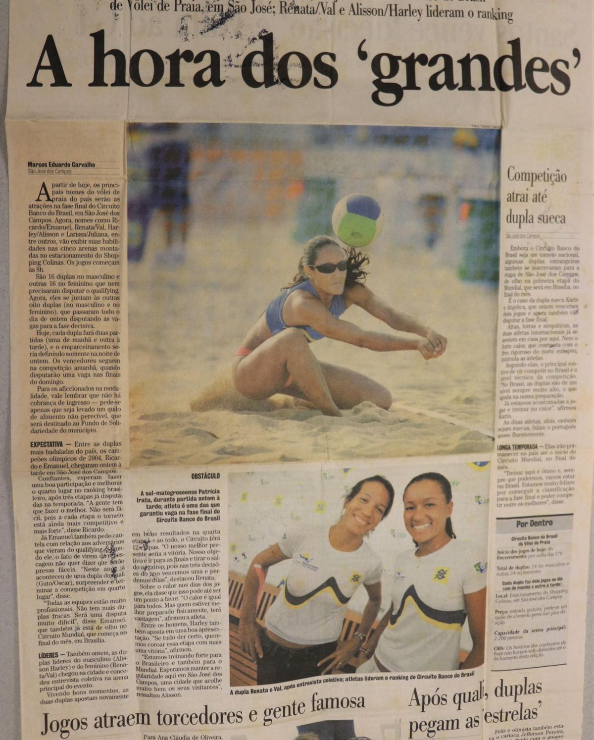 Patricia de Moura newspaper