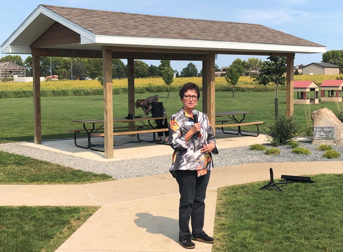 Mark Neibauer Four Oaks dedication- Anne Gruenewald