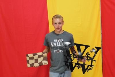 Riley Witt and his state fair projects