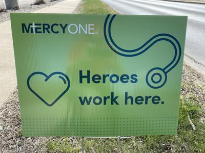 MercyOne sign
