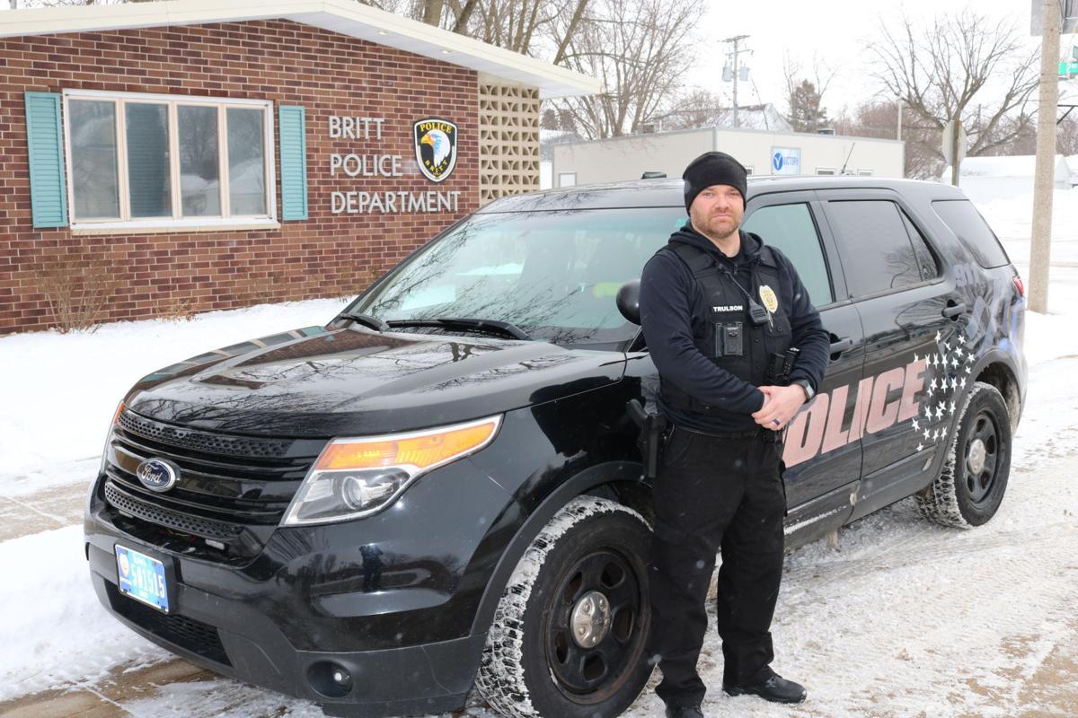 Britt Officer Josh Trulson