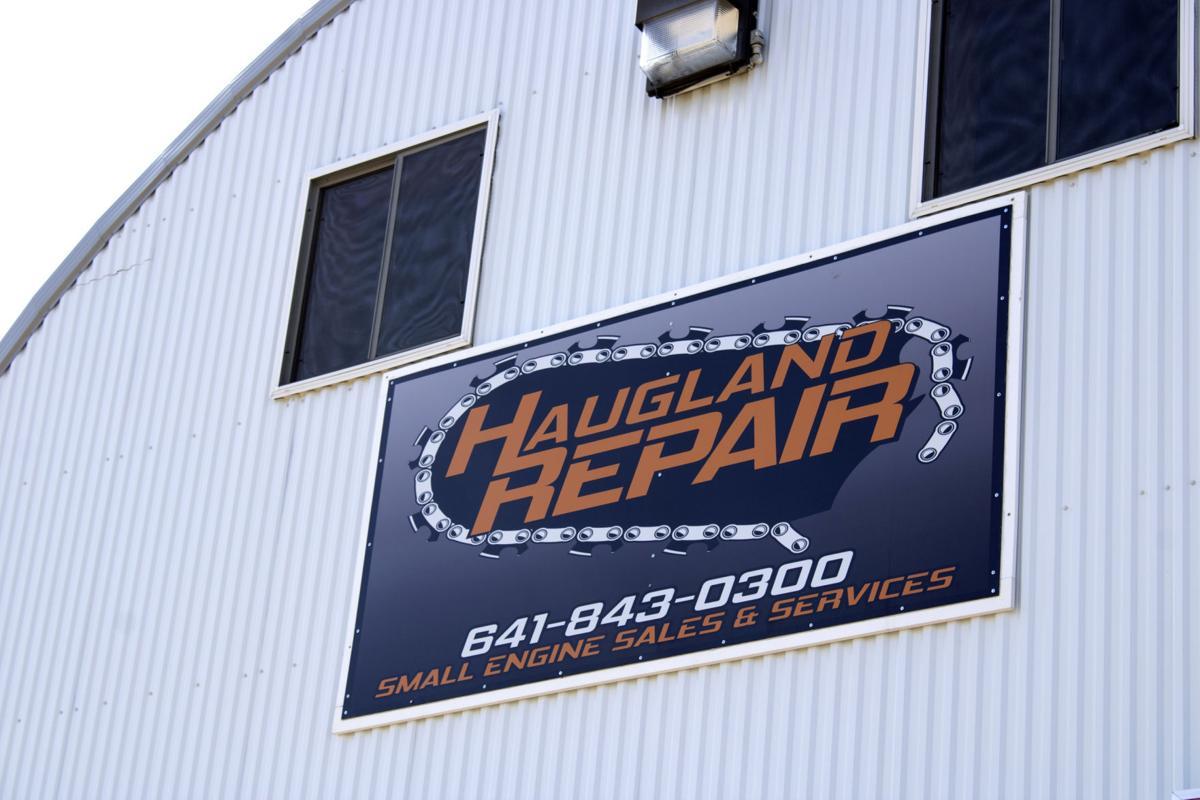 Haugland Sign