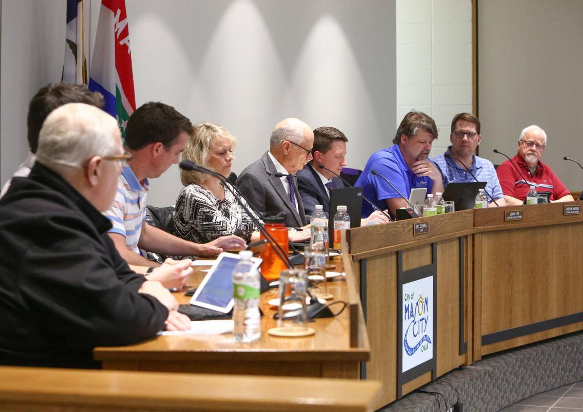 Mason City Council meeting Nov. 19, 2019
