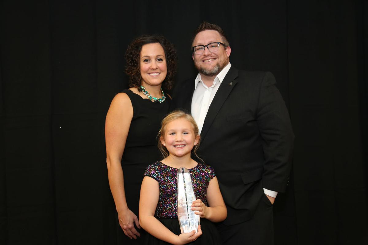 Derek Balsley receives award