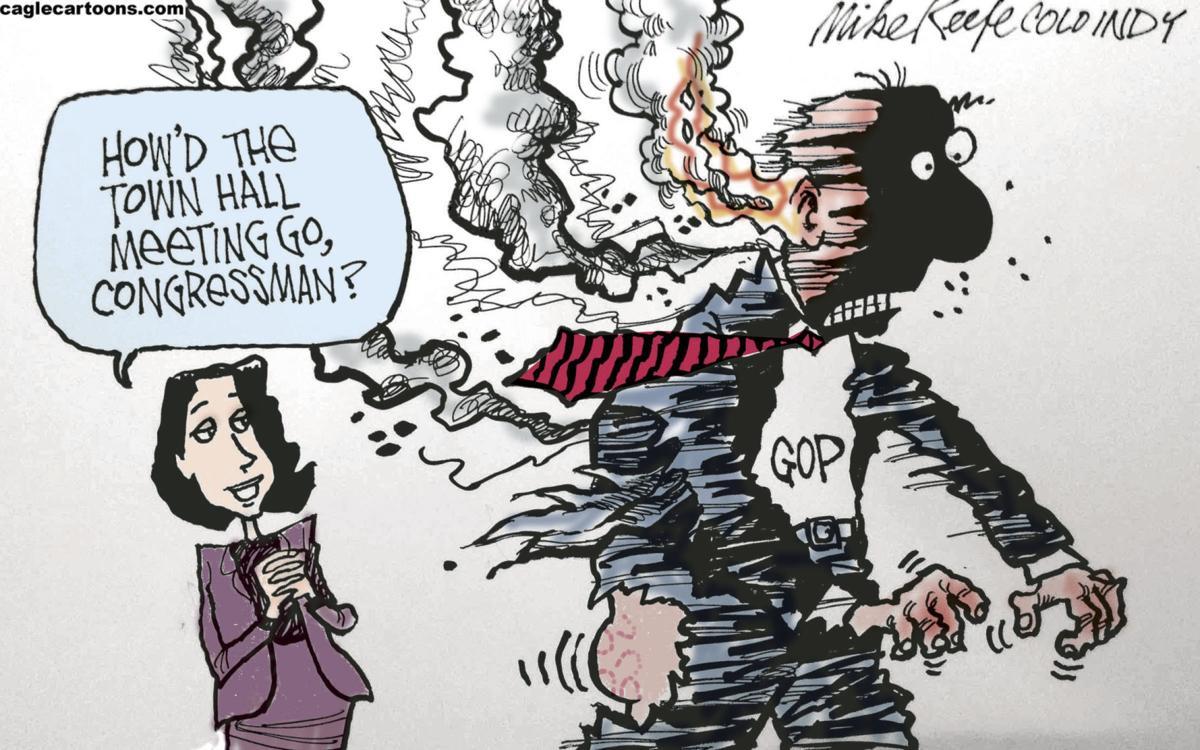 Political Cartoons Tweets Immigration 25th Amendment Putin Column Globegazette Com