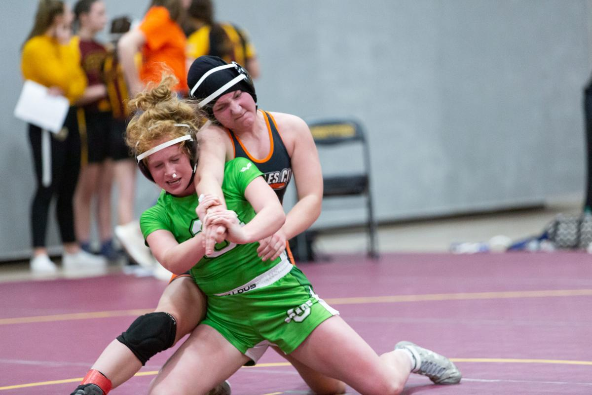 Osage girls wrestling
