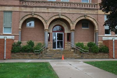 Courthouse east entrance