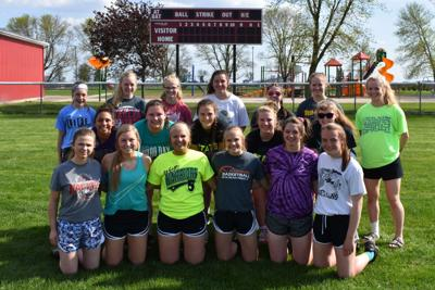 2019 West Hancock High School Softball team