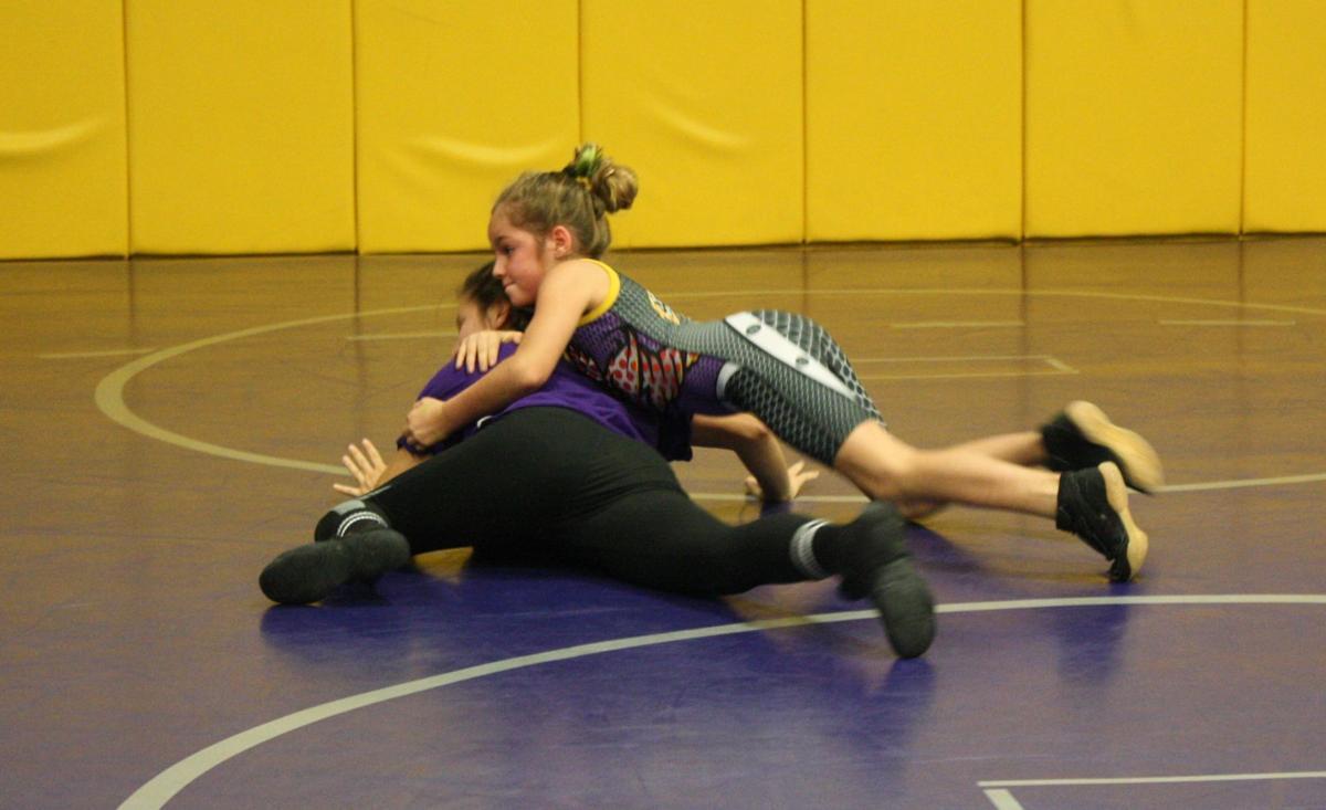 Waldorf women wrestling