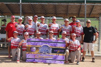Forest City Indians' 13U USSSA baseball team