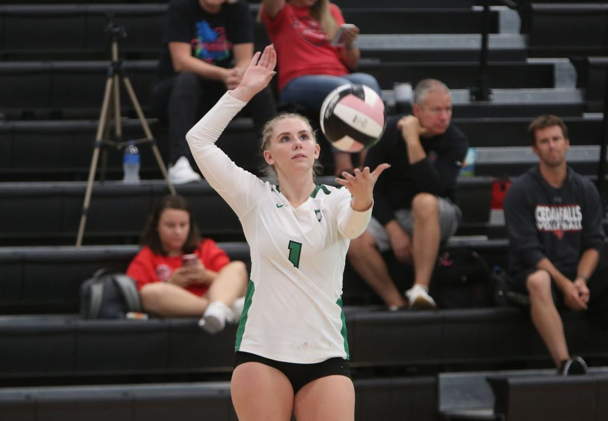Osage volleyball tournament, 9-11-21 - Francis