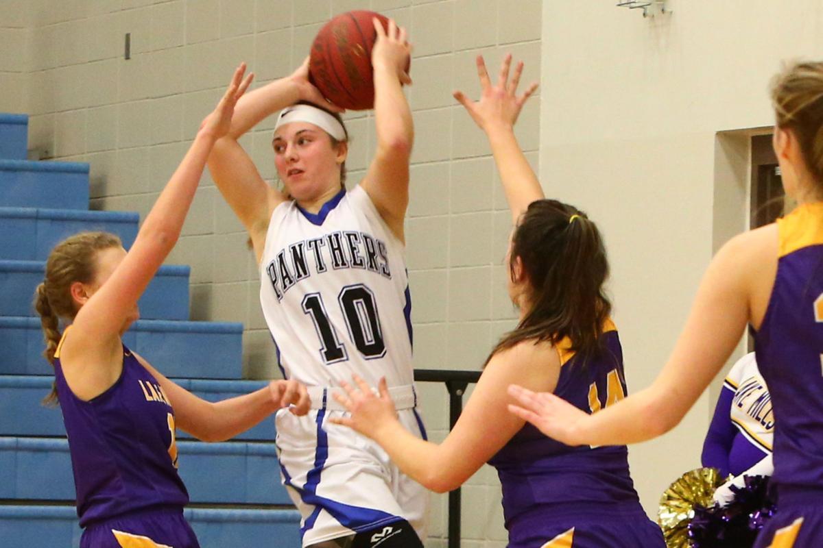 Central Springs vs. Lake Mills girls basketball