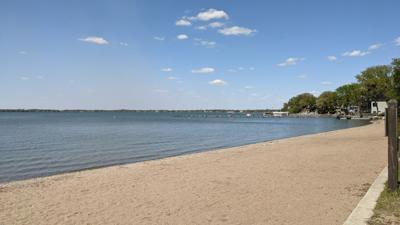 Clear Lake travel - State Park beach