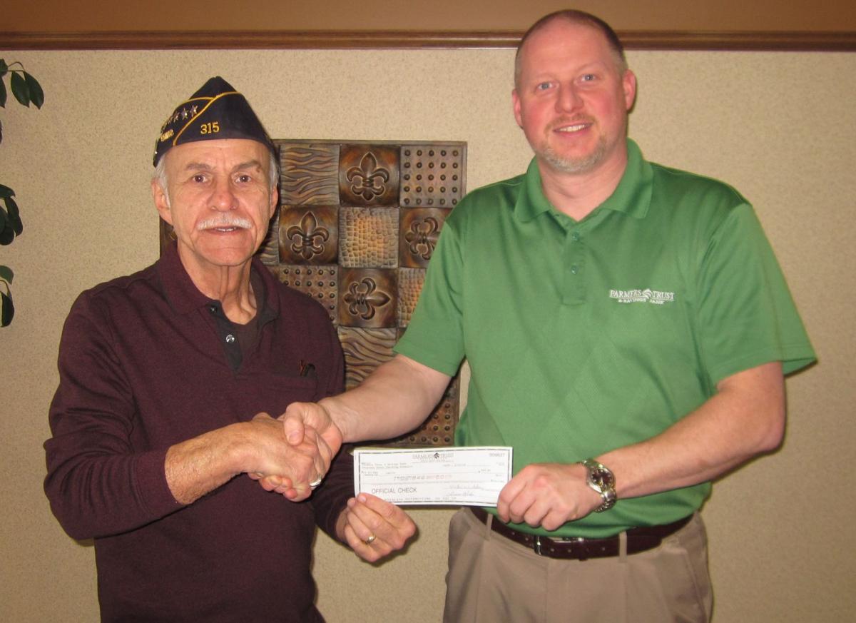 FTSB donates to Britt American Legion