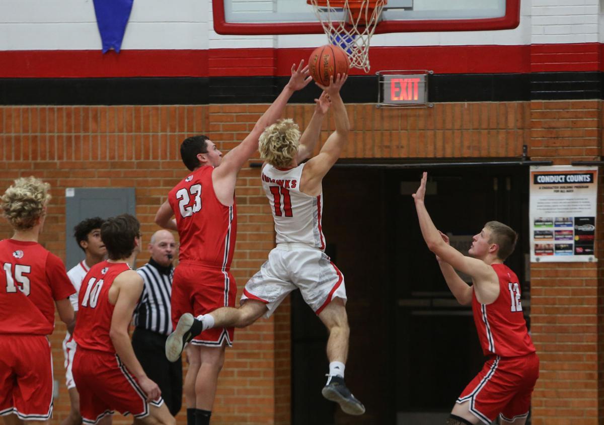 Mason City boys basketball vs. New Hampton - Miner