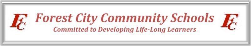 Forest city school logo