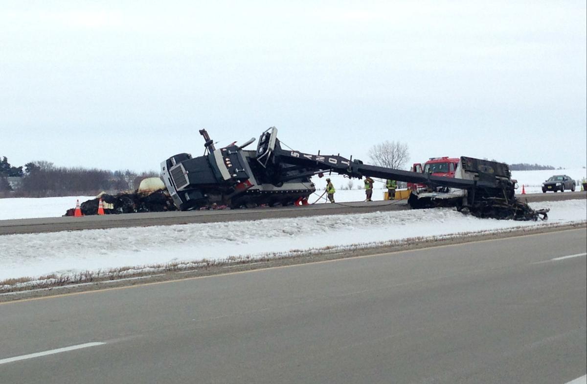 Highway 18 re-opens after hours-long closure near Mason City | Mason