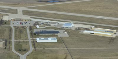 Aerials Mason City Airport