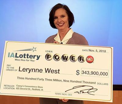 Iowa woman claims $343M Powerball jackpot | Iowa & The Midwest