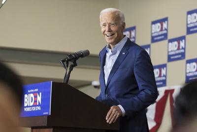 Former Vice President Joe Biden in Waterloo